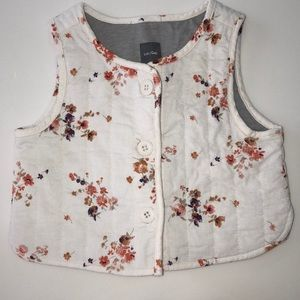 Baby Gap Fall Button Up Vest